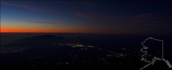 From the top of Haleakala Volcano. The Haleakalā High Altitude Observatory Site. 10,000 feet above sea level. A lot of people there this trip but as soon as the sun went down I had the volcano all to myself. A lot of VOG this trip made for some great sunsets.
