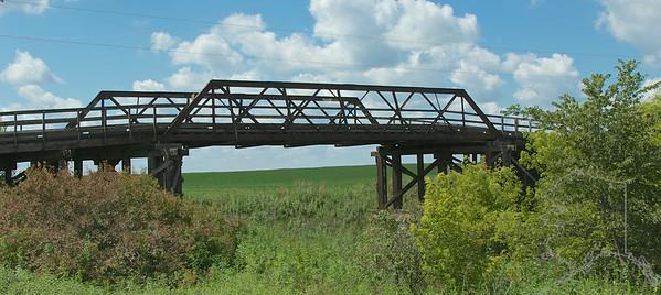 Wooden Bridge I found driving around in Iowa.