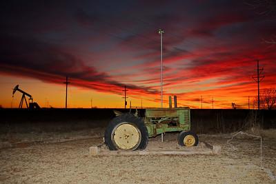 West Texas sunset.