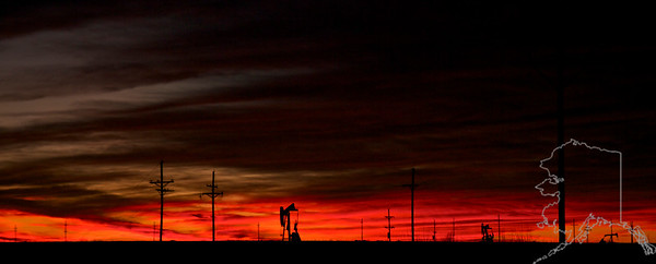West Texas sunset.