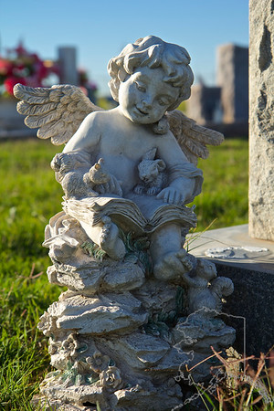 I love to walk around old cemeteries and see the old head stones. Look at how they have weathered the test of time. Each one telling its own story.