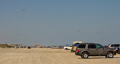 A great day on the beach at Port Aransas Texas.