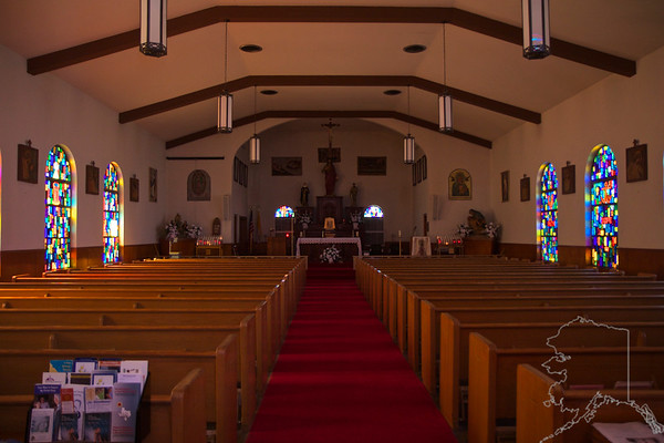 This is St. Rosa of Lima Catholic Church in Benavides, Texas. Not much in this old town but a bunch of run down old buildings. This church was the high light.