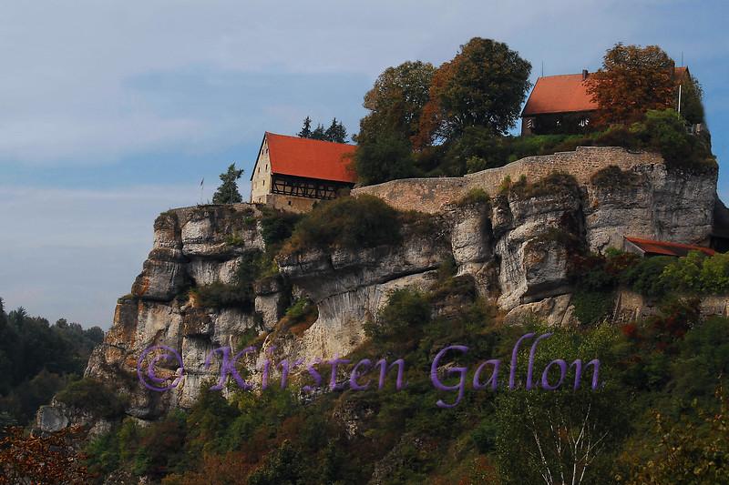 A berg in Pottenstein, Germany, in the Bavarian region.