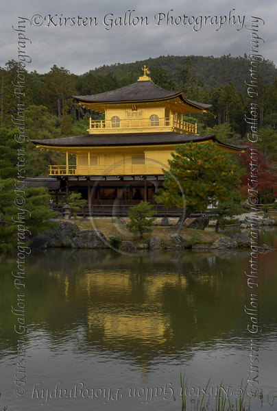 The famous Golden Palace, known as Kinkaku-ji, officially named Rokuon-ji, is a Zen Buddhist temple in Kyoto, Japan. It is one of the most popular buildings in Japan, attracting a large number of visitors annually.