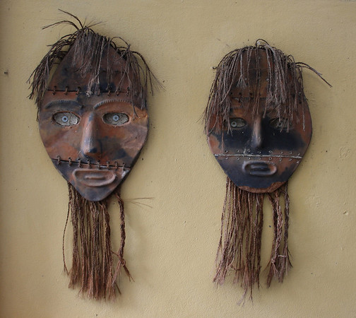 Two Brown Masks<br /> Nadi Bay Resort Hotel<br /> <br /> Nadi, Fiji<br /> 28 May 2012