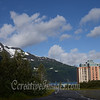 Seward Highway, Whittier Alaska.<br /> Most people live in this building, also a hotel. <br /> Photography by: Ccreative Images Photography. <br /> All rights reserved.