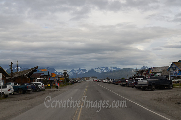 Sterling Highway, Homer Alaska<br /> Photography by: Ccreative Images Photography. <br /> All rights reserved.