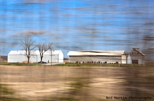 Along the Interstate in Indiana
