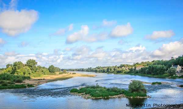 The Loire at Charite-sur-Loire, France