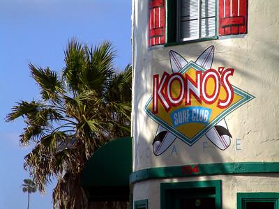 Kono's Cafe Pacific Beach San Diego, CA