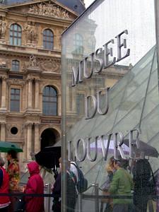 The Louvre in the rain Paris, France