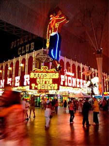 Pioneer Club, Downtown Las Vegas, Nevada