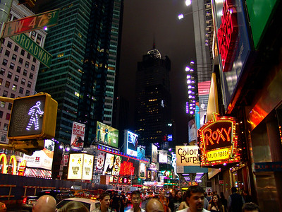 Times Square New York  47th and Broadway
