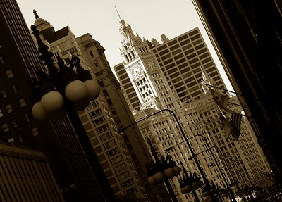 Wrigley Building on Michigan Avenue Chicago, IL