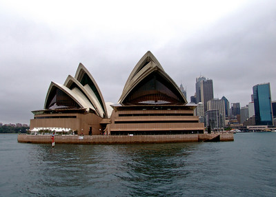Sydney Opera House as seen from Sydney Harbour