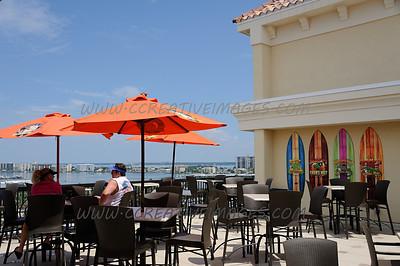 Clearwater Beach Grille Beach Florida. 8/2013