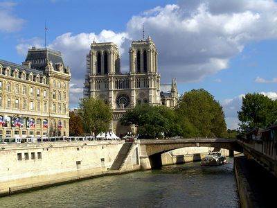 Notre Dame on the Seine