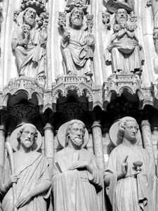 Detail of Notre Dame Cathedral
