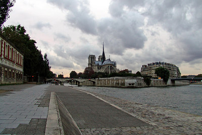 Notre Dame Cathedral from the Seine