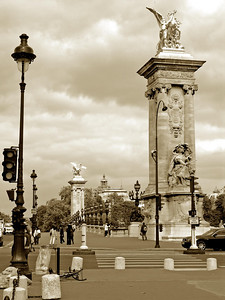 Pont Alexander III , Paris France
