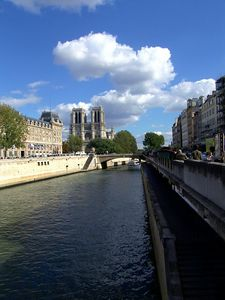 Notre Dame on the Seine  l