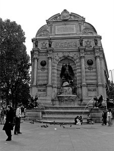Place St. Michel, Paris France