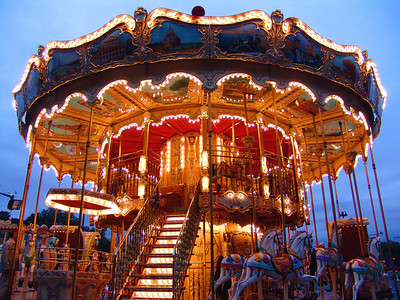 Carousel of the Eiffel Tower, Paris, France