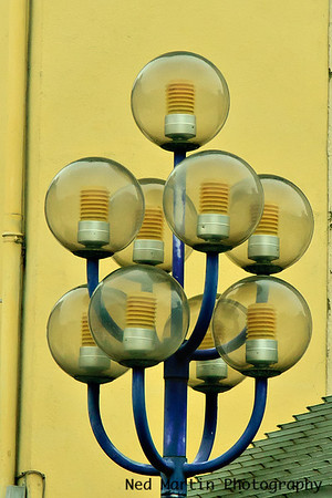 Streetlight in Foix