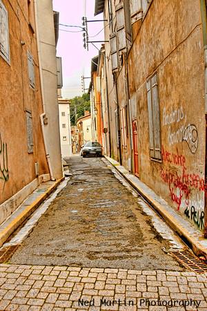Street scene in Foix