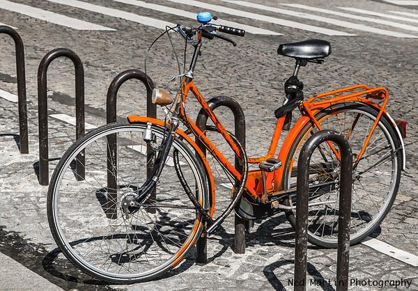 Bicycle at the Pantheon