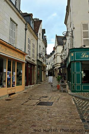 Street Scene in Loches, France