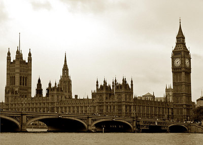 Big Ben and Parliament, London England