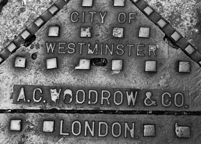 Westminster Sewer Cap, London