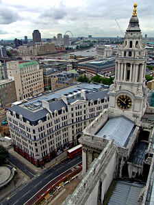 View from Saint Paul's Cathedral, London