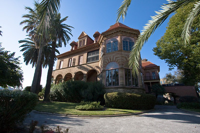 George Sealy Mansion, on the corner of 25th and Broadway in Galveston, Texas - Built in 1889