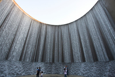 Williams Tower Water Wall