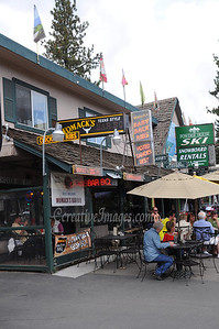 Visiting Reno and Lake Tahoe area.  Womak's street dining.