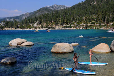 Visiting Reno and Lake Tahoe area. Lake Tahoe-Sand Harbor.