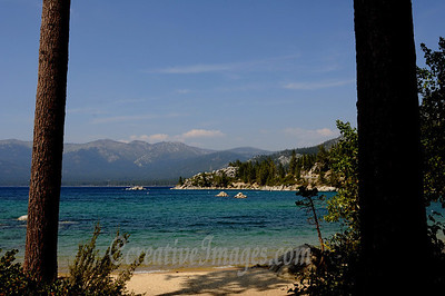 Visiting Reno and Lake Tahoe area. Sand Harbor.