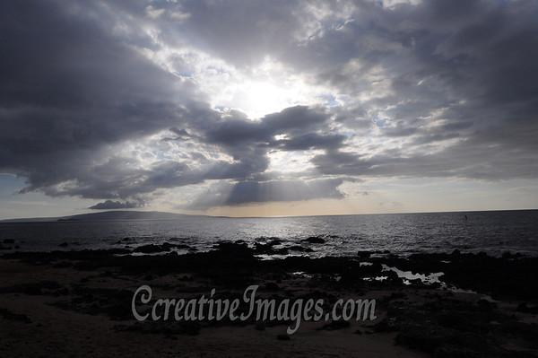 "Maui Island-1/2012- Kihei area beach sunset.<br /> Photos by:  <a href=""http://www.ccreativeimages.com"">http://www.ccreativeimages.com</a>, chrismike2009.<br /> All rights reserved."