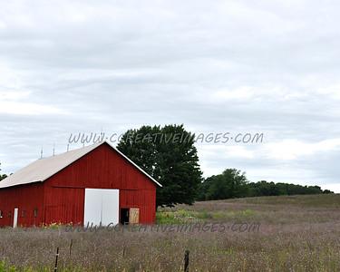 Michigan USA. Following back roads near Lake Michigan. 7.2010