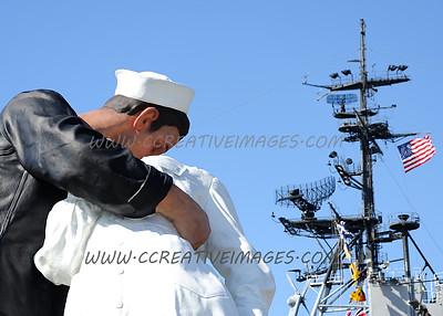 San Diego California. USS MIDWAY. 3.2014