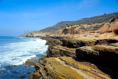 San Diego California. Point Loma. 3.2014