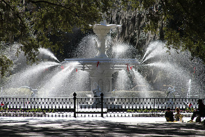 Forsythe Fountain in Savannah, GA © Erin Suggett Photography