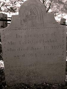 Tabitha Plasket Burial Hill, Plymouth MA