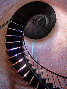 Lighthouse Stairway Cape Cod, MA