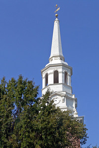 Philly Church steeple