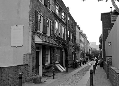 Elfreth's Alley Our Nation's Oldest Residential Street
