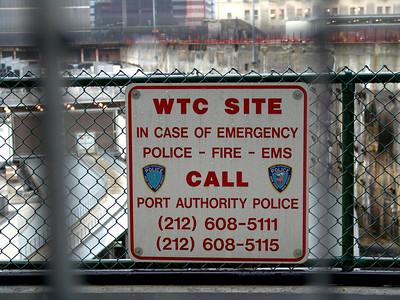Former World Trade Center Site